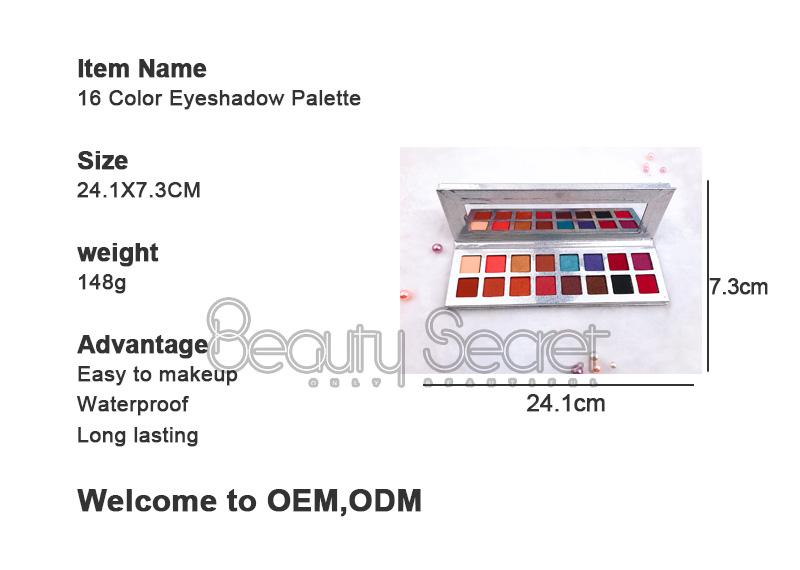 Beauty Secret Cosmetics glitter glitter eye makeup powder for makeup-6