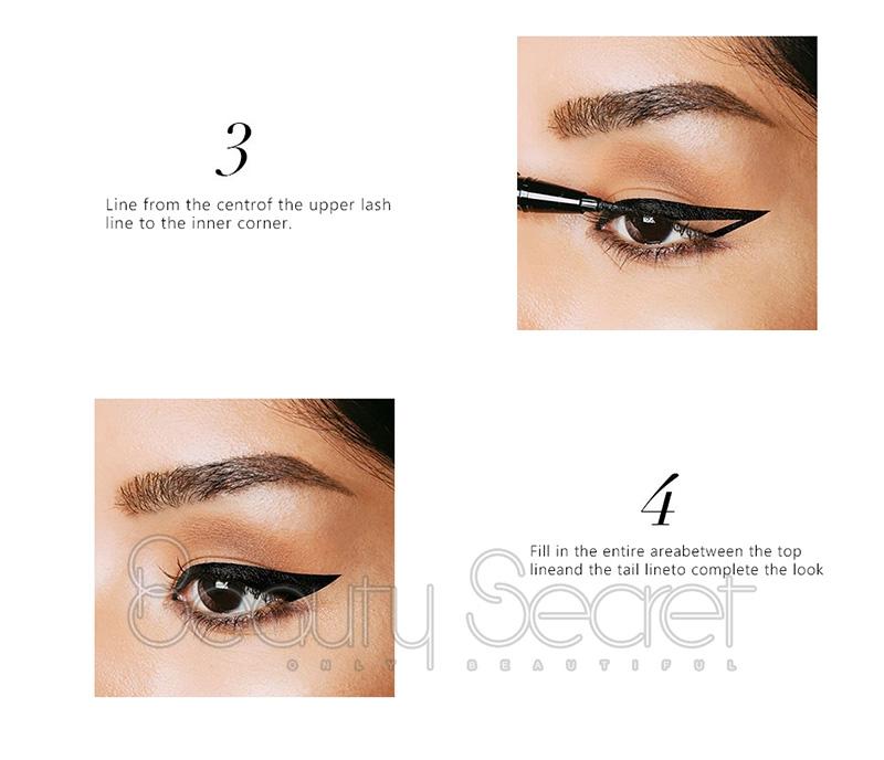 Beauty Secret Cosmetics black eyeliner private label for sale-4