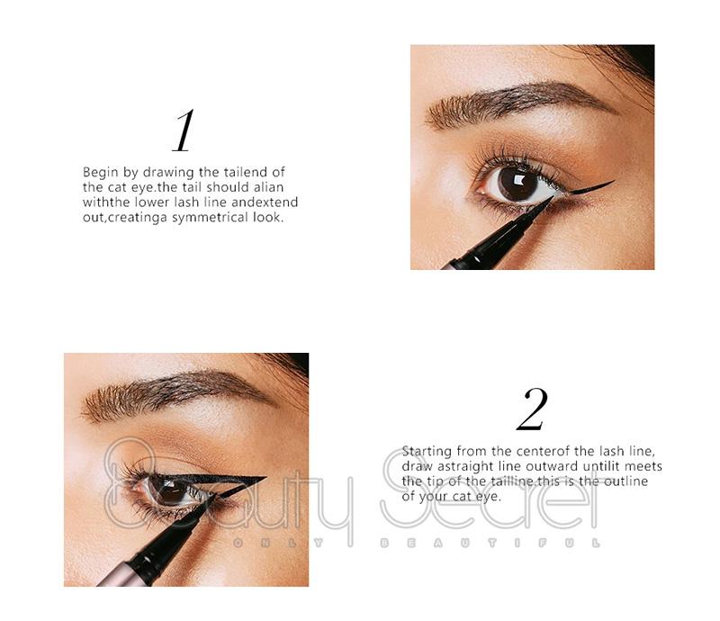 Beauty Secret Cosmetics black eyeliner private label for sale-3