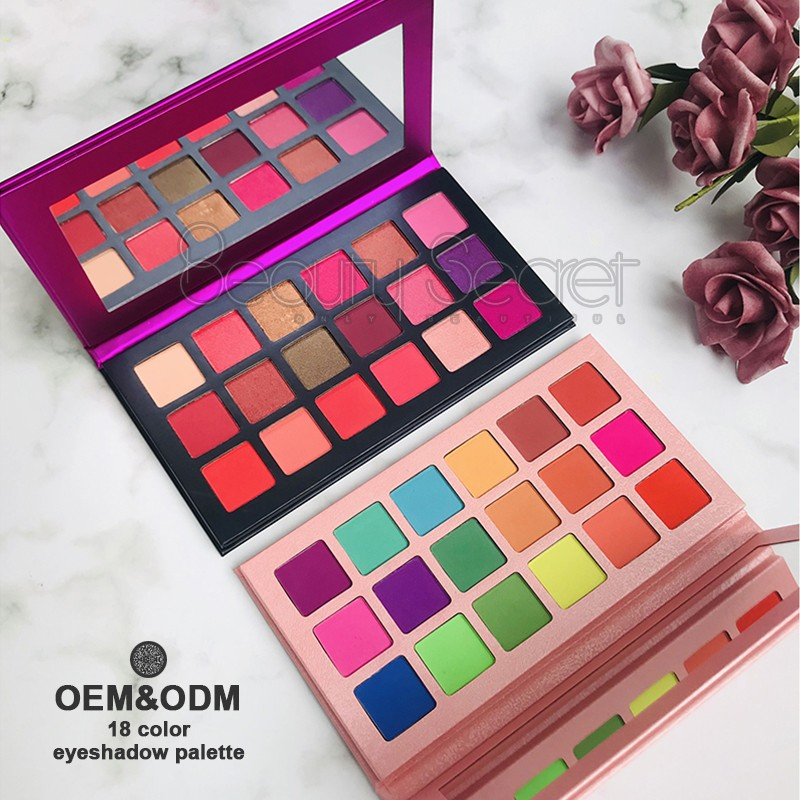 shimmer shimmer eyeshadow palette powder for ladies-4