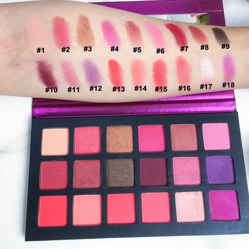 shimmer shimmer eyeshadow palette powder for ladies-6