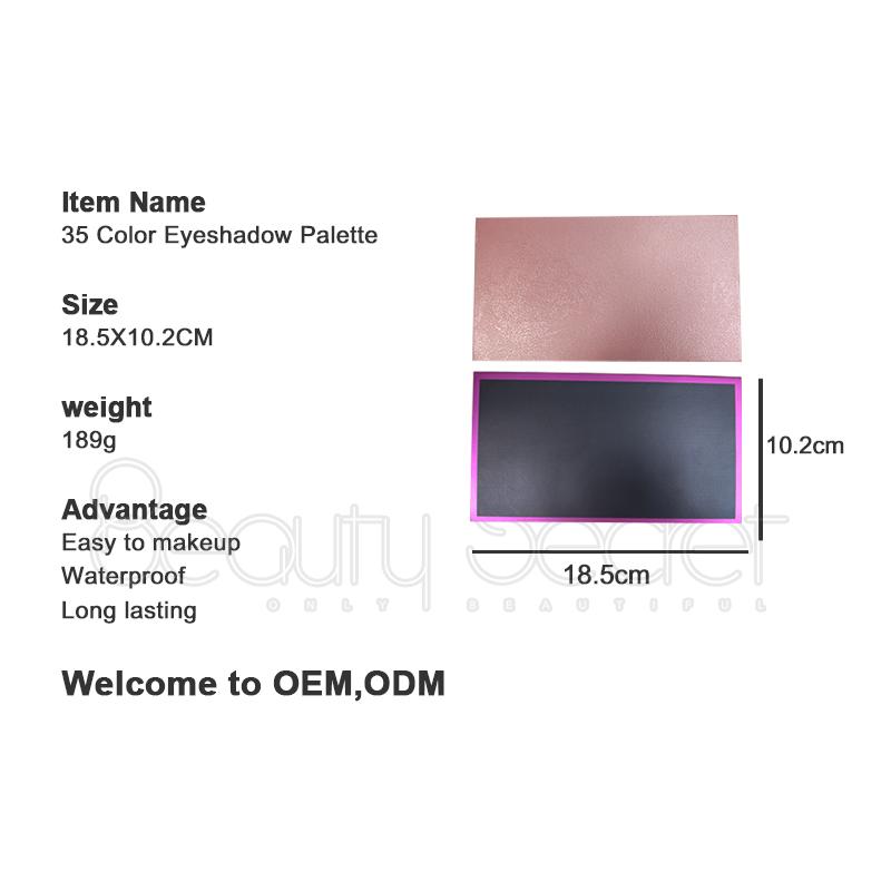 shimmer shimmer eyeshadow palette powder for ladies-7