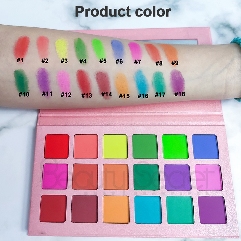 shimmer shimmer eyeshadow palette powder for ladies-5