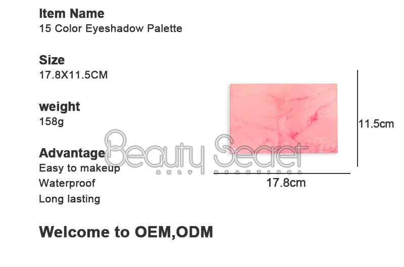 neon glitter eye makeup with mirror for ladies-4