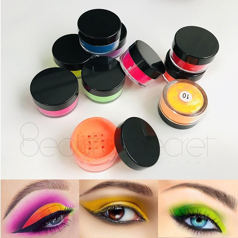 Beauty Secret Cosmetics shimmer eyeshadow palette with mirror fast delivery