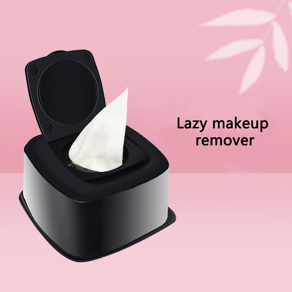 Custom logo organic cotton makeup remover wipes private label