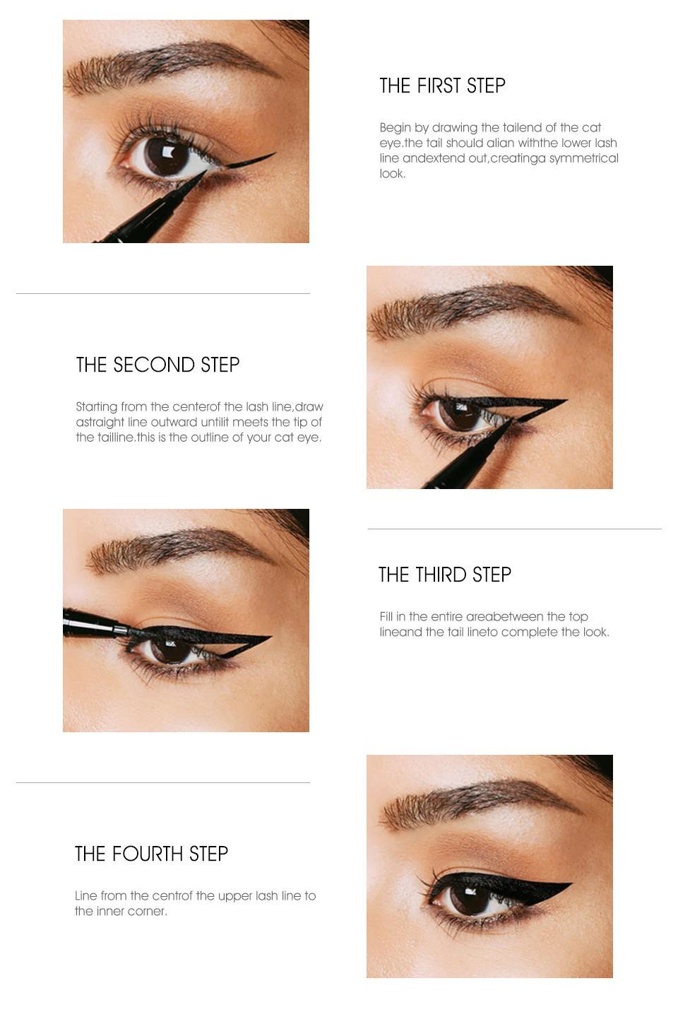 long lasting black liquid eyeliner tube for sale