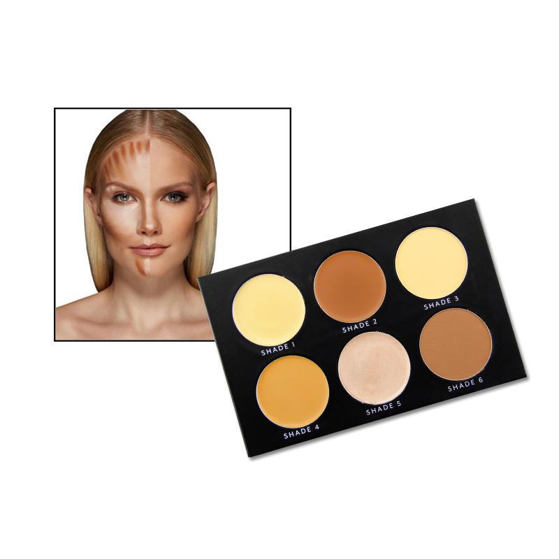 Wholesale mineral powder makeup private label foundation palette