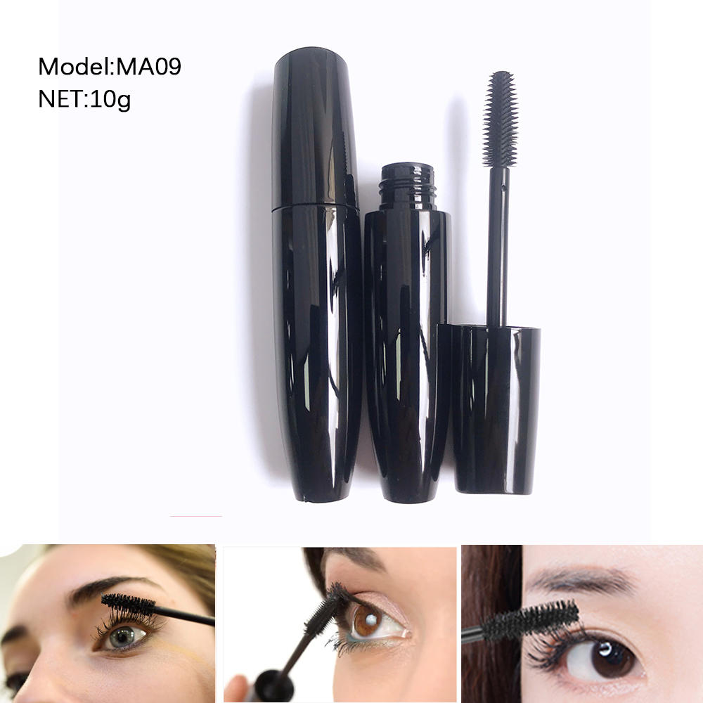 Organic black custom packaging tube waterproof mascara private label