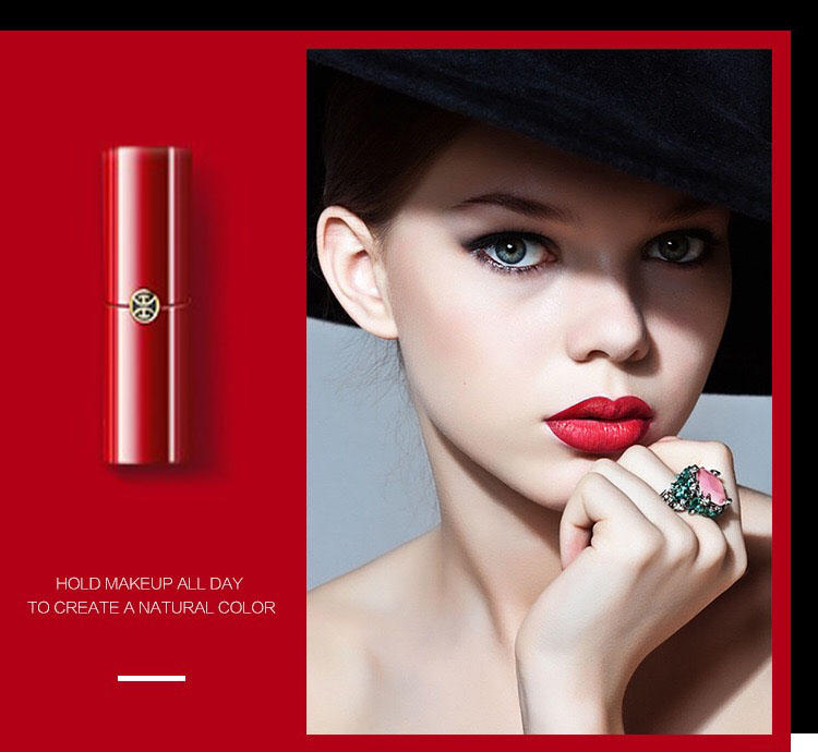 Beauty secret 5 colors liquid lip custom private label organic moisturizing lipstick
