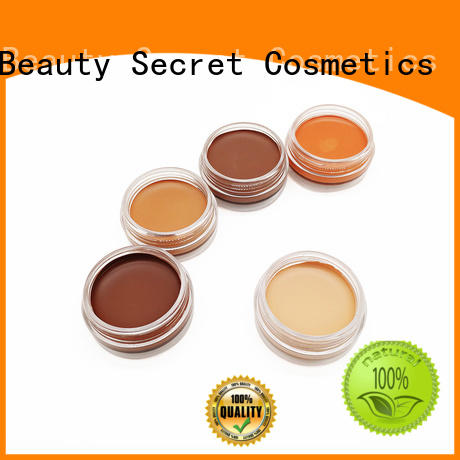 elegant foundation cosmetics with mirror for beauty