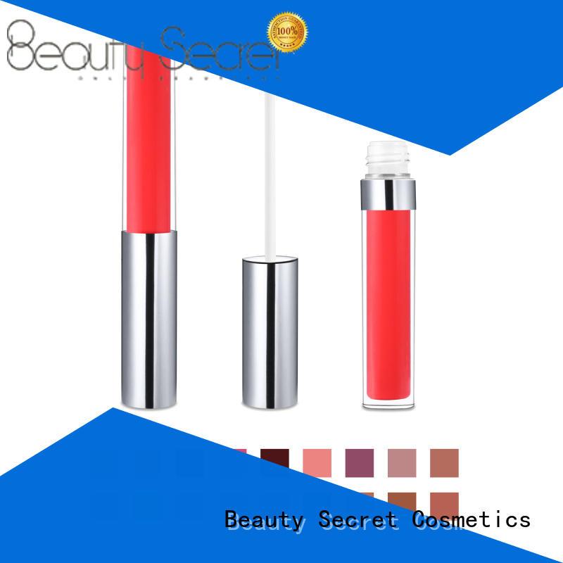 Beauty Secret Cosmetics liquid beauty lipstick organic moisturizing lipstick for women