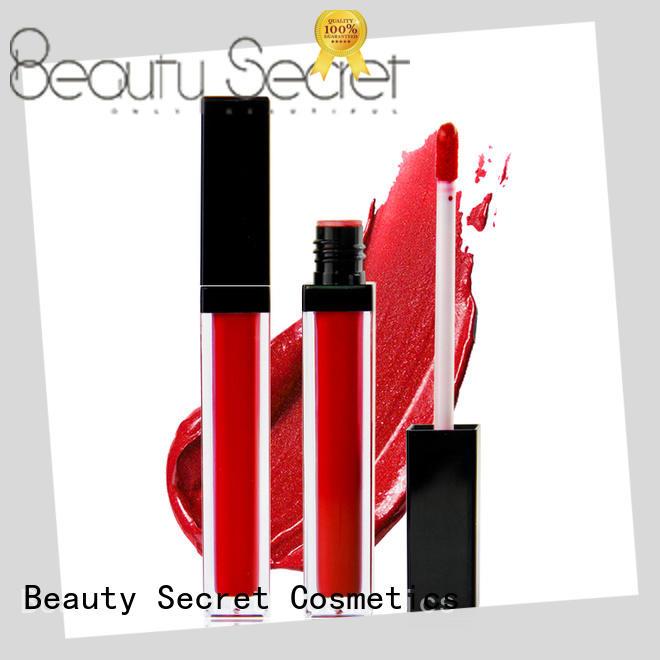 no logo waterproof liquid lipstick manufacturer for sale Beauty Secret Cosmetics