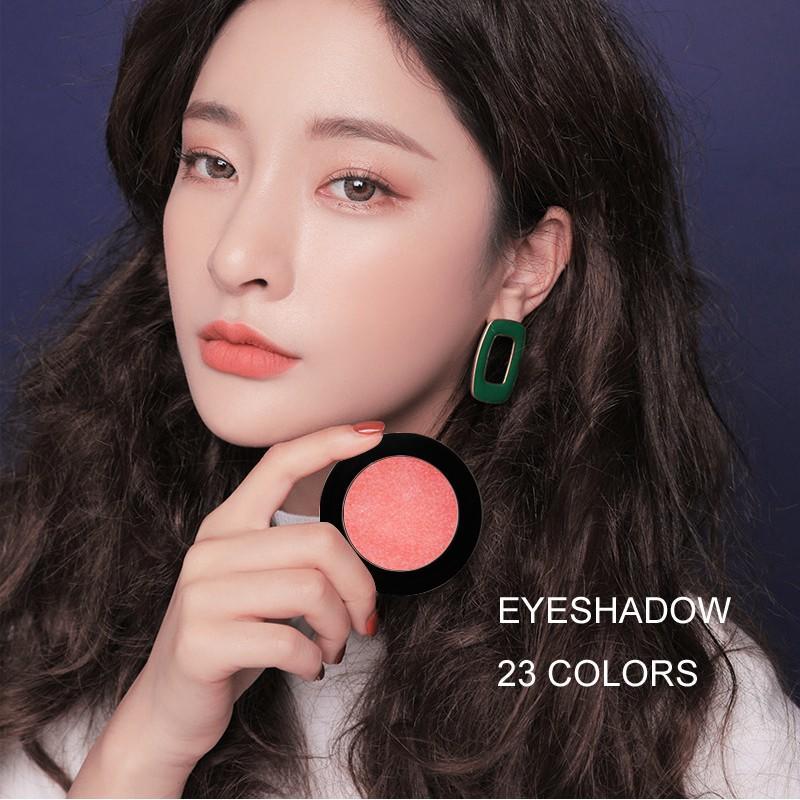 Beauty Secret Cosmetics plastic shimmer eyeshadow palette with custom logo for ladies-1