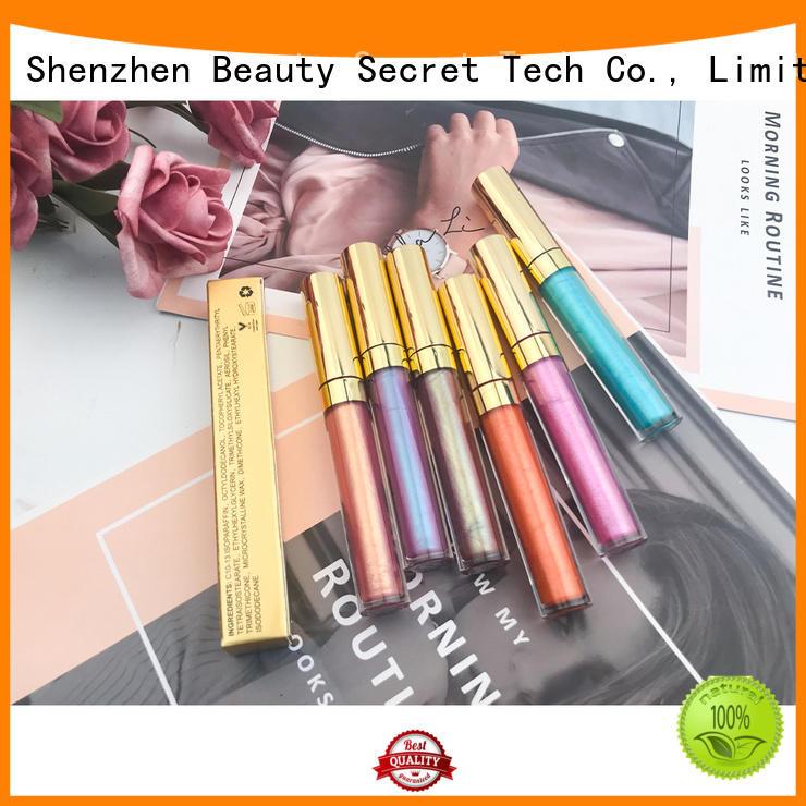 round metalic lip gloss vendor glitter lipgloss wholesale
