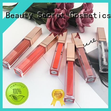 Beauty Secret Cosmetics lip gloss shimmer supplier wholesale