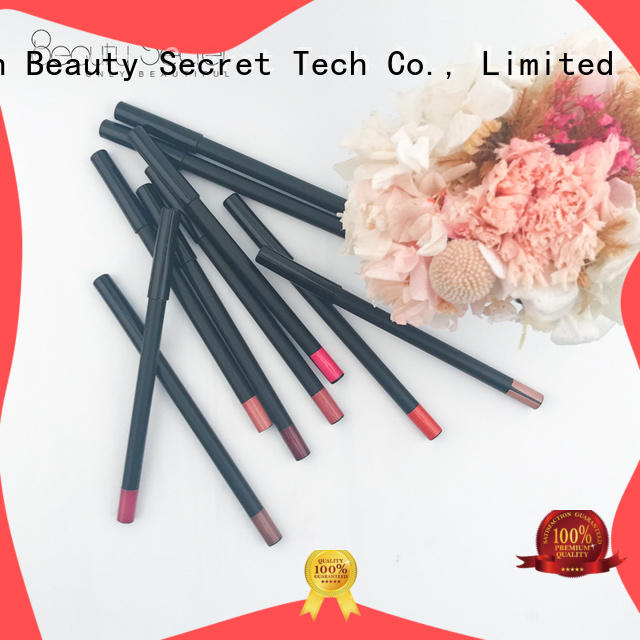 Beauty Secret Cosmetics custom black matte lipstick for sale