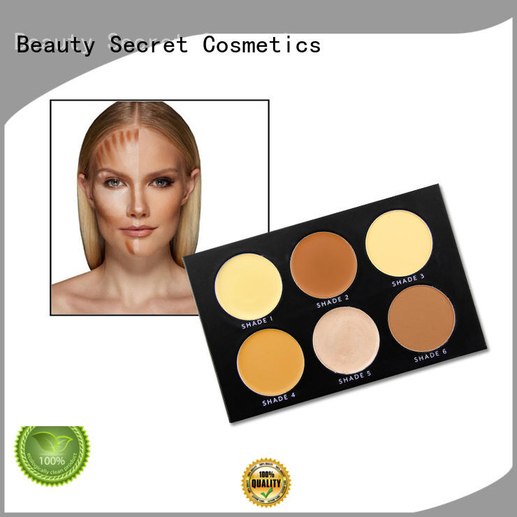 powder liquid foundation with mirror for makeup