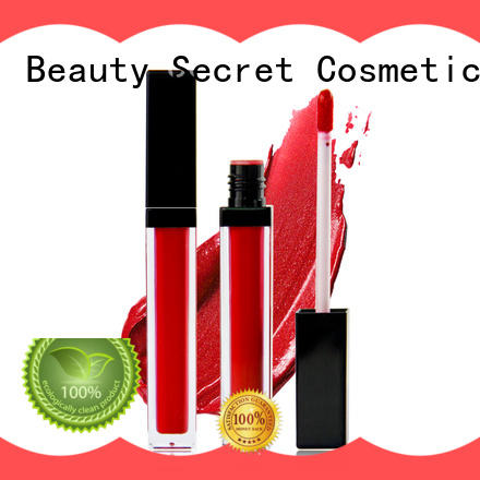 Beauty Secret Cosmetics lipstick making manufacturer for ladies