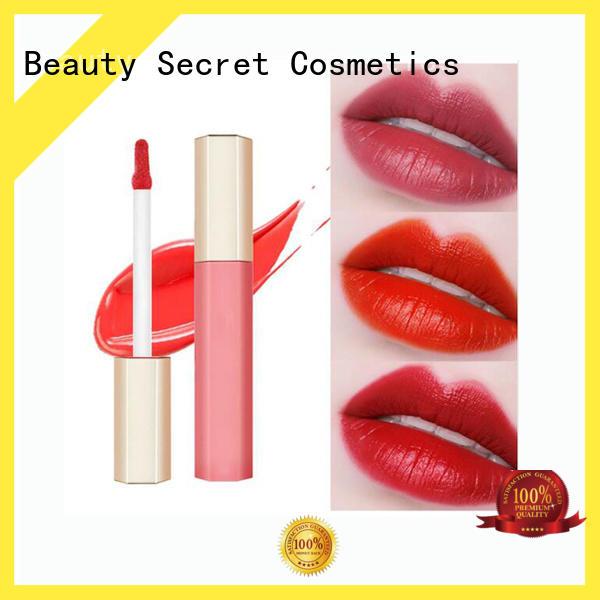 Beauty Secret Cosmetics oem custom lip gloss manufacturer fast delivery