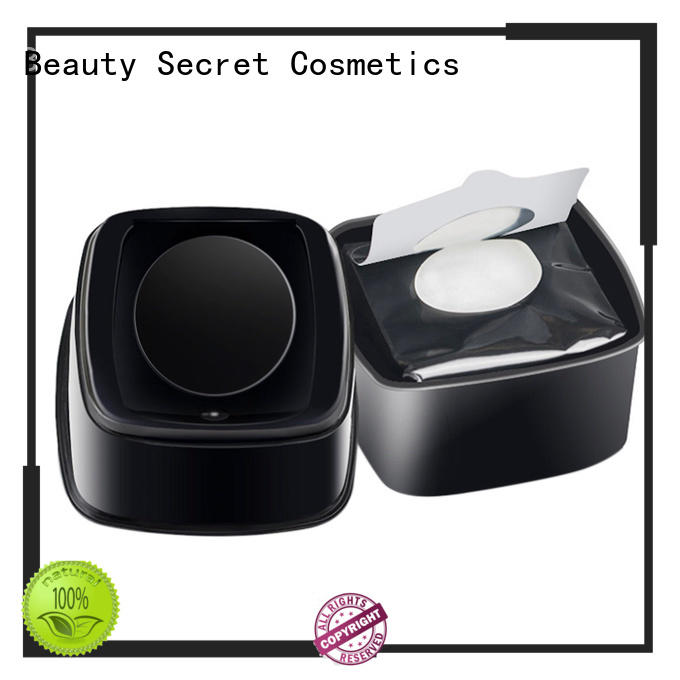 Beauty Secret Cosmetics long lasting makeup remover wipe private label for sale