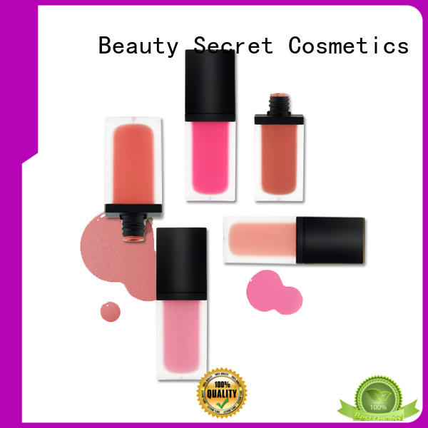 Beauty Secret Cosmetics blusher palette private label for makeup