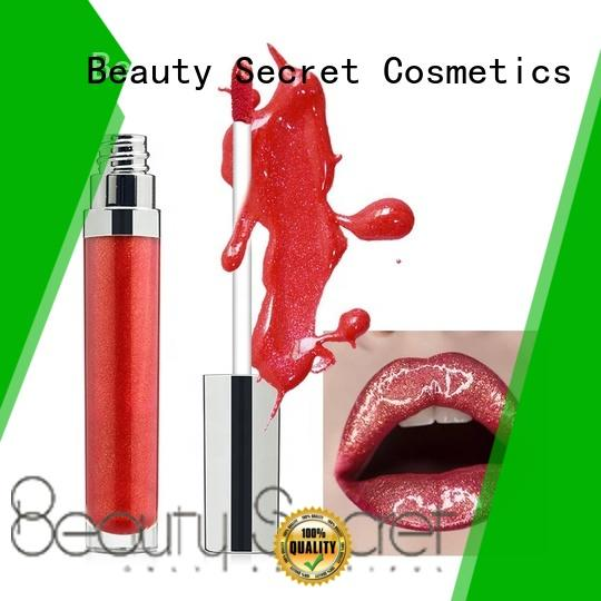 glossy moisturizing lip gloss with gold cap for sale
