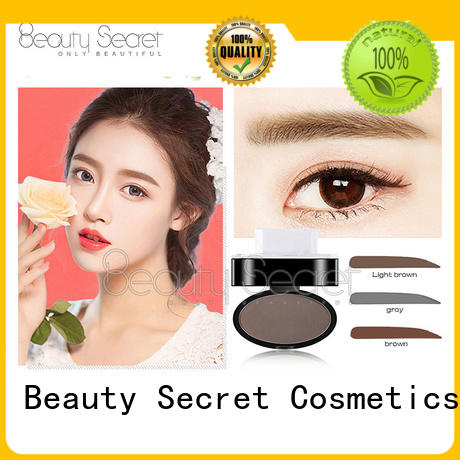Beauty Secret Cosmetics customized eyebrow brush set tint contour for women