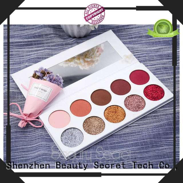 Beauty Secret Cosmetics matter natural eyeshadow with mirror for makeup