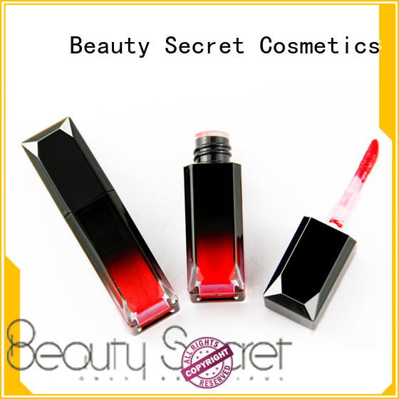 Beauty Secret Cosmetics designed shimmer lip gloss with your own logo for sale