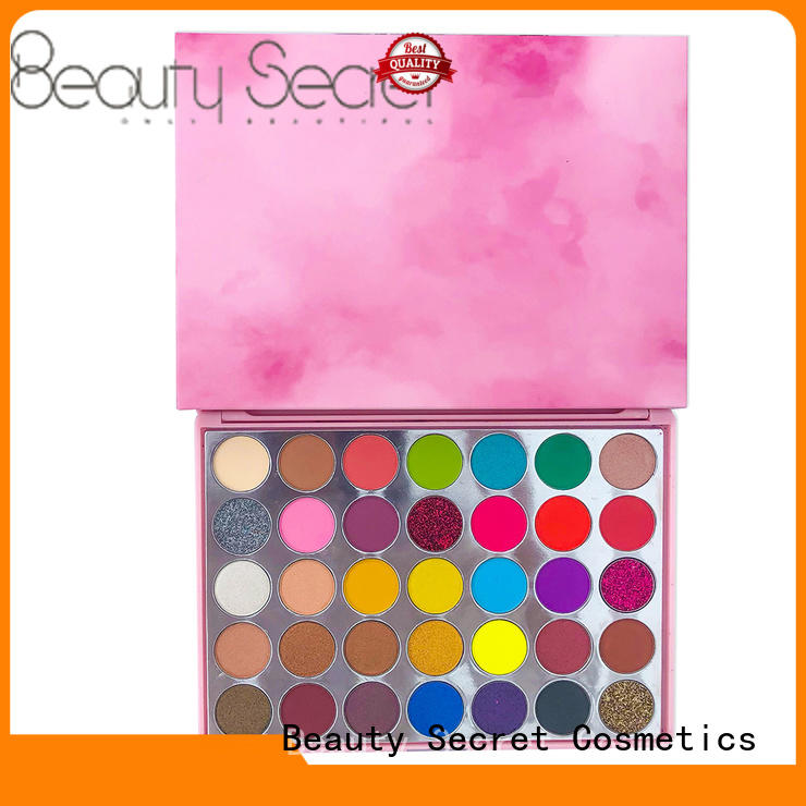 Beauty Secret Cosmetics new eyeshadow palettes with mirror for makeup