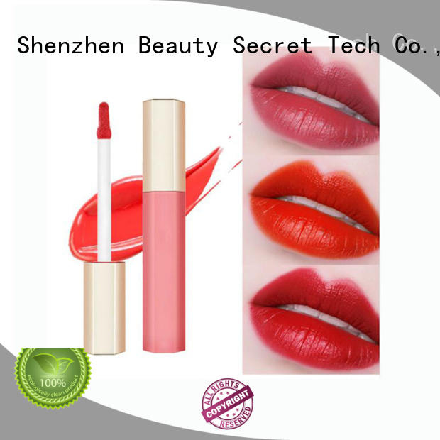 Beauty Secret Cosmetics lip gloss shimmer with gold cap for makeup