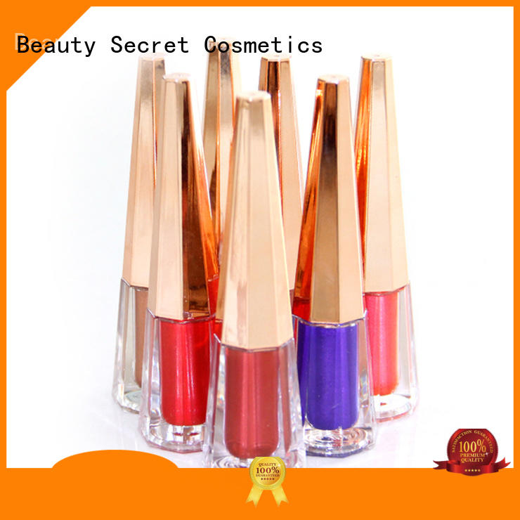 Beauty Secret Cosmetics lipstick custom organic moisturizing lipstick for women