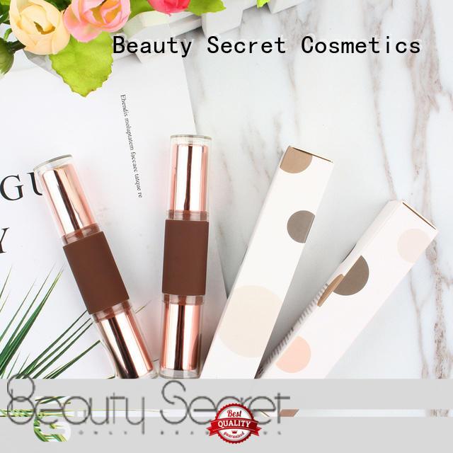 Beauty Secret Cosmetics pressed natural highlighter palette for makeup