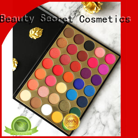 Beauty Secret Cosmetics latest bright eyeshadow palette with mirror for ladies