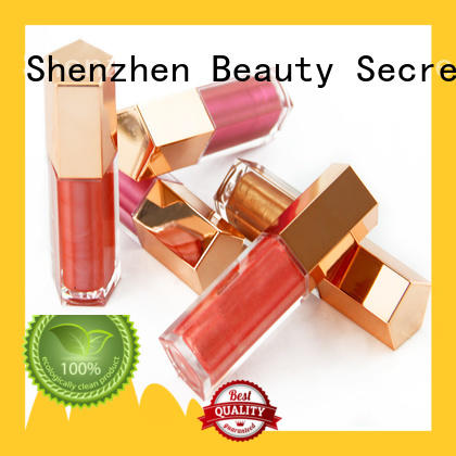 Beauty Secret Cosmetics luxury lip gloss shimmer superior quality for sale