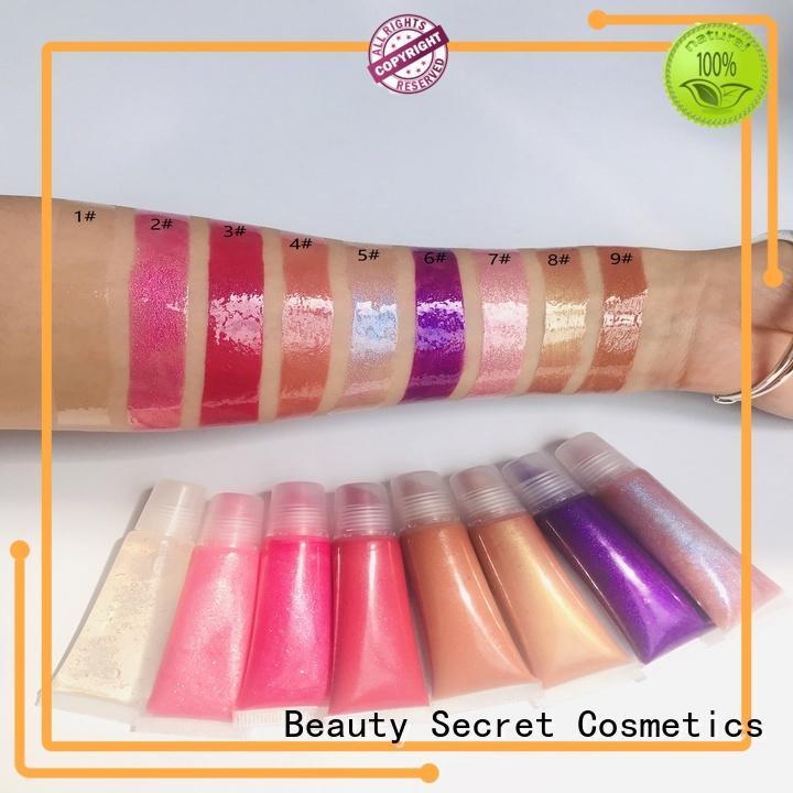 Beauty Secret Cosmetics glossy moisturizing lip gloss hot sale for sale