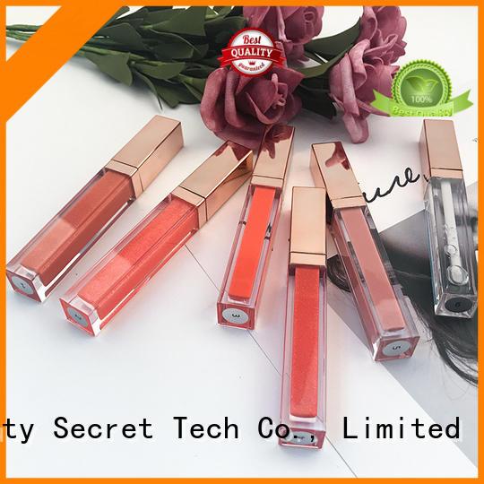 Beauty Secret Cosmetics luxury metalic lip gloss supplier wholesale