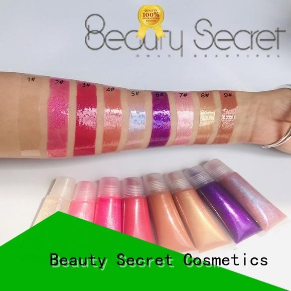 Beauty Secret Cosmetics long lasting moisturizing lip gloss supplier fast delivery