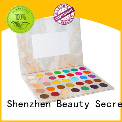 Beauty Secret Cosmetics high quality best colorful eyeshadow palette powder for ladies