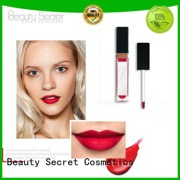 Beauty Secret Cosmetics long lasting wholesale lipstick packaging for ladies