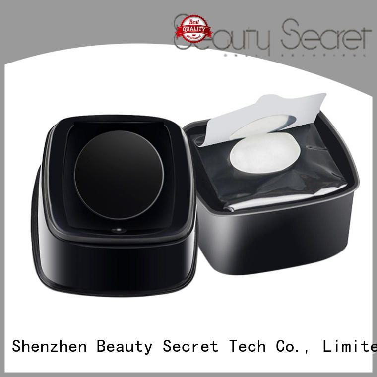 Beauty Secret Cosmetics makeup remover wipe with custom logo for sale