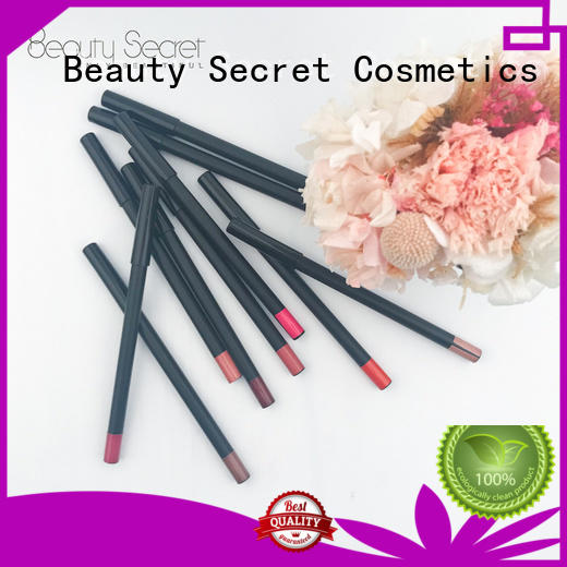 Beauty Secret Cosmetics makeup cruelty free black matte lipstick private label for ladies