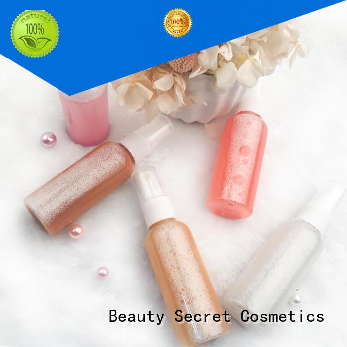 Beauty Secret Cosmetics customized good cheap highlighter for makeup