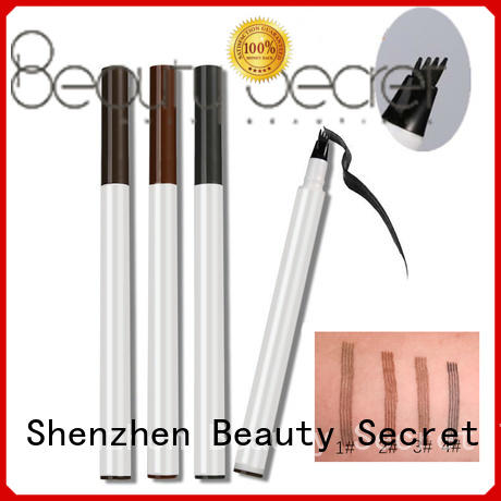 Beauty Secret Cosmetics fashion liquid eyebrow pen for makeup