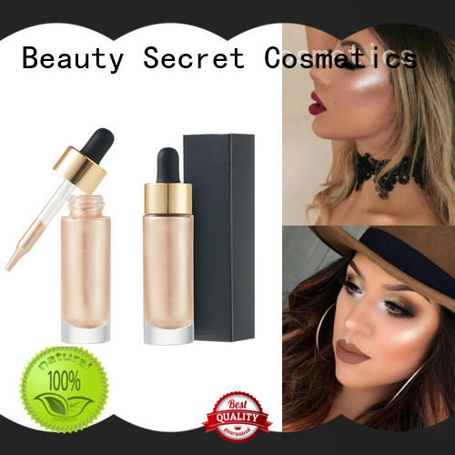 setting shimmer spray highlighter makeup powder Beauty Secret Cosmetics Brand