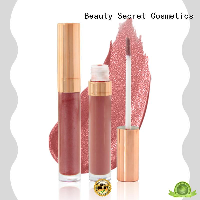 Beauty Secret Cosmetics luxury wholesale lip gloss supplier for makeup