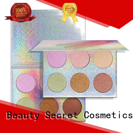 Beauty Secret Cosmetics natural highlighter palette for makeup
