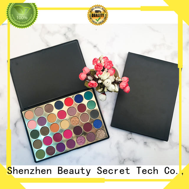 latest bright eyeshadow palette with mirror fast delivery