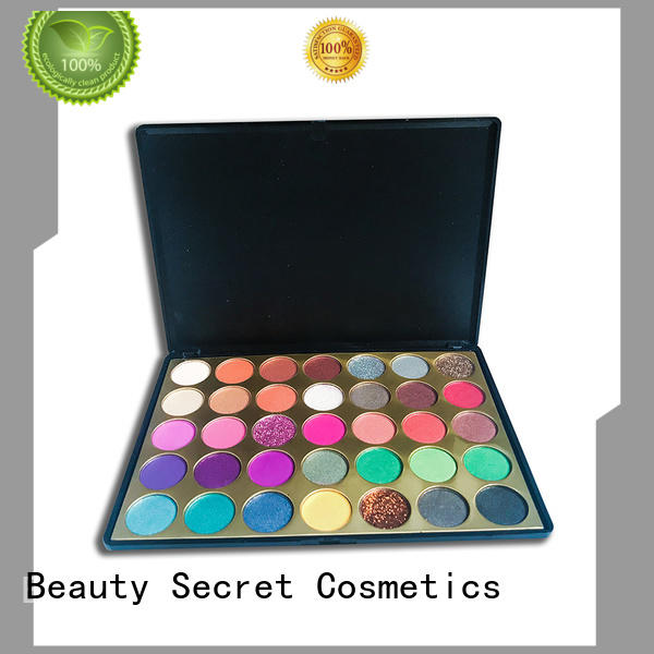 Beauty Secret Cosmetics free cheap eyeshadow palette fast delivery for ladies